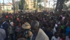 People filled the streets and blocked traffic to hear the gospel!