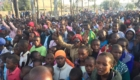 A crowd gathers in Narok, Kenya for our Gospel Crusade